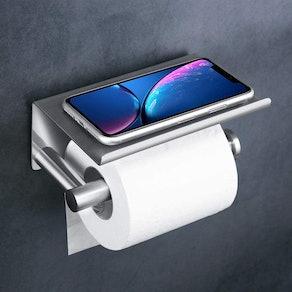 UgBaBa Toilet Paper Holder and Shelf