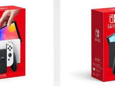 Nintendo Switch (OLED Model) colors