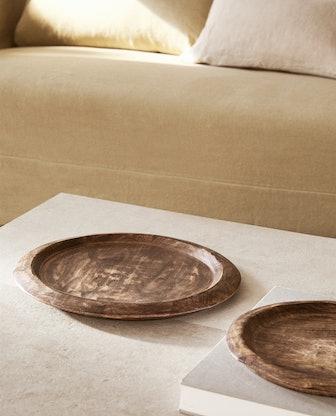 Irregular Wooden Tray
