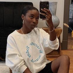 Cortne Bonilla mirror selfie