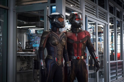 Scott Lang and Hope van Dyne will face Kang the Conqueror in the next Ant-Man movie. Photo via Ant-M...