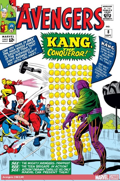 Kang the Conqueror starred in a very early 'Avengers' comic. Photo via Marvel