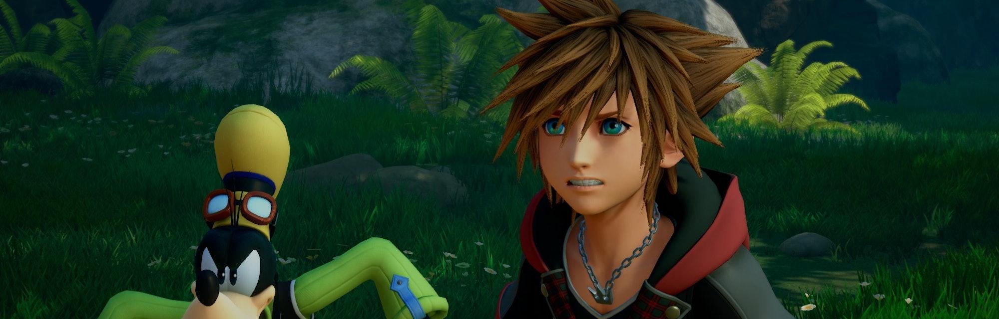 A screenshot from Kingdom Hearts III