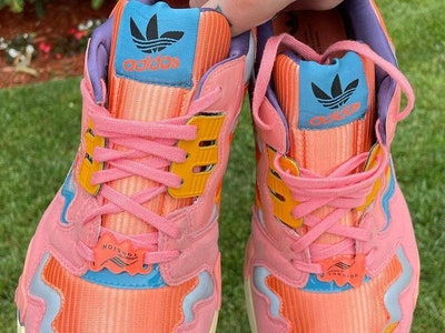 "Bad Bunny x Adidas ""Ice Cream"" ZX 8000"
