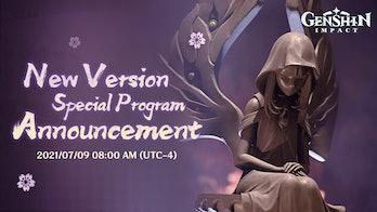Genshin Impact Version 2.0 Livestream Baal Statue of the Seven