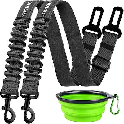 COOYOO Dog Seat Belt (2-Pack)