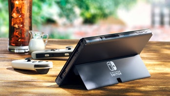 Nintendo Switch (OLED model) video game console