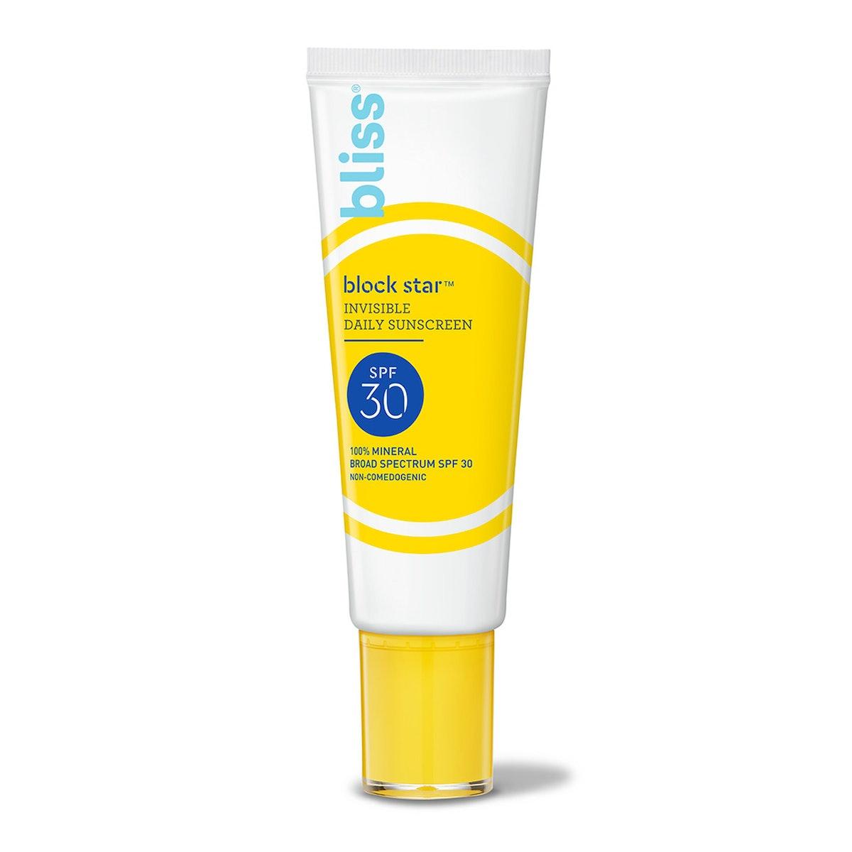 Block Star Invisible Daily Sunscreen SPF 30