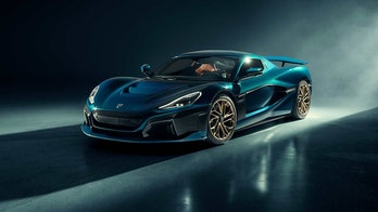 The Rimac Nevera is an electric hypercar that can go from 0-60 mph in 1.85 seconds.