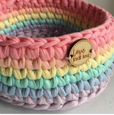 Rainbow Decor - Handmade Baskets