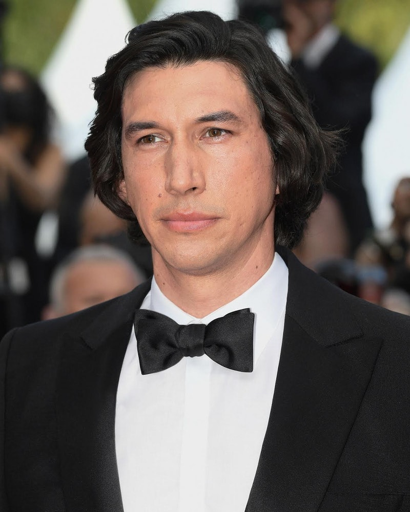 Adam Driver at Cannes Film Festival in Burberry
