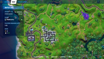 fortnite welcome gift location 2 map