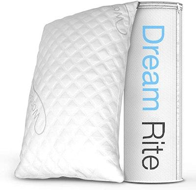 WonderSleep Dream Rite Hypoallergenic Memory Foam Pillow