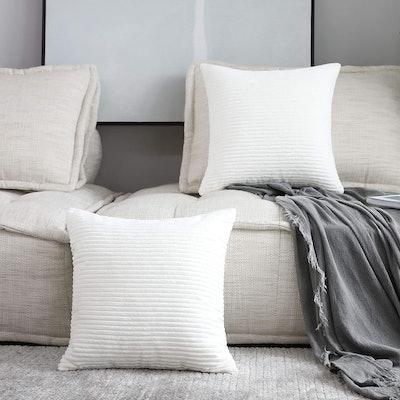 Home Brilliant Decorative Pillow Cover (Set of 2)