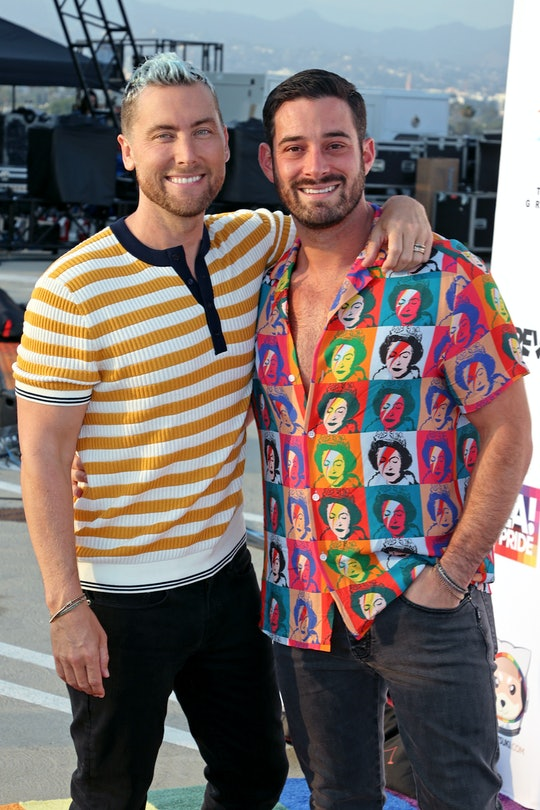 """Lance Bass of NSYNC and Michael Turchin attend """"Bingo Under The Stars"""" in celebration of Pride, host..."""