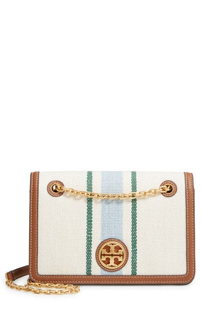Carson Striped Convertible Shoulder Bag