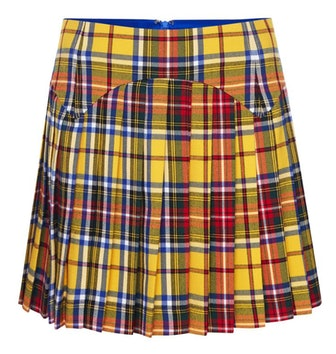 Tartan Yellow Skirt