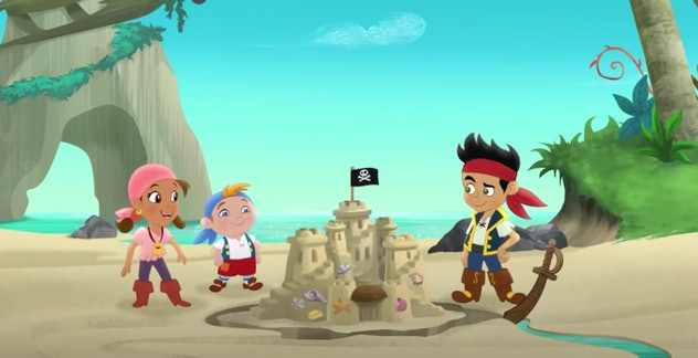 Jake and the Never Land Pirates features a character named Captain Hook.