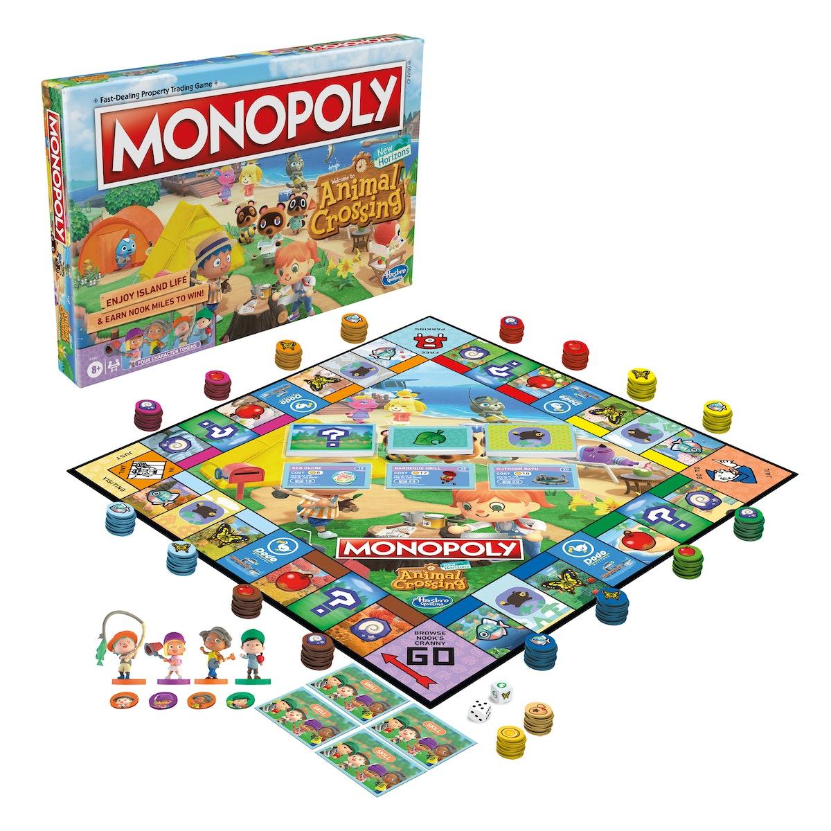 'Animal Crossing' Monopoly