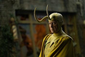 Richard E. Grant as Classic Loki in Loki Episode 5
