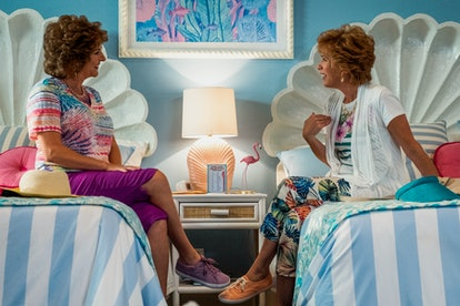 Annie Mumolo and Kristen Wiig star in 'Barb and Star Go to Vista Del Mar.'