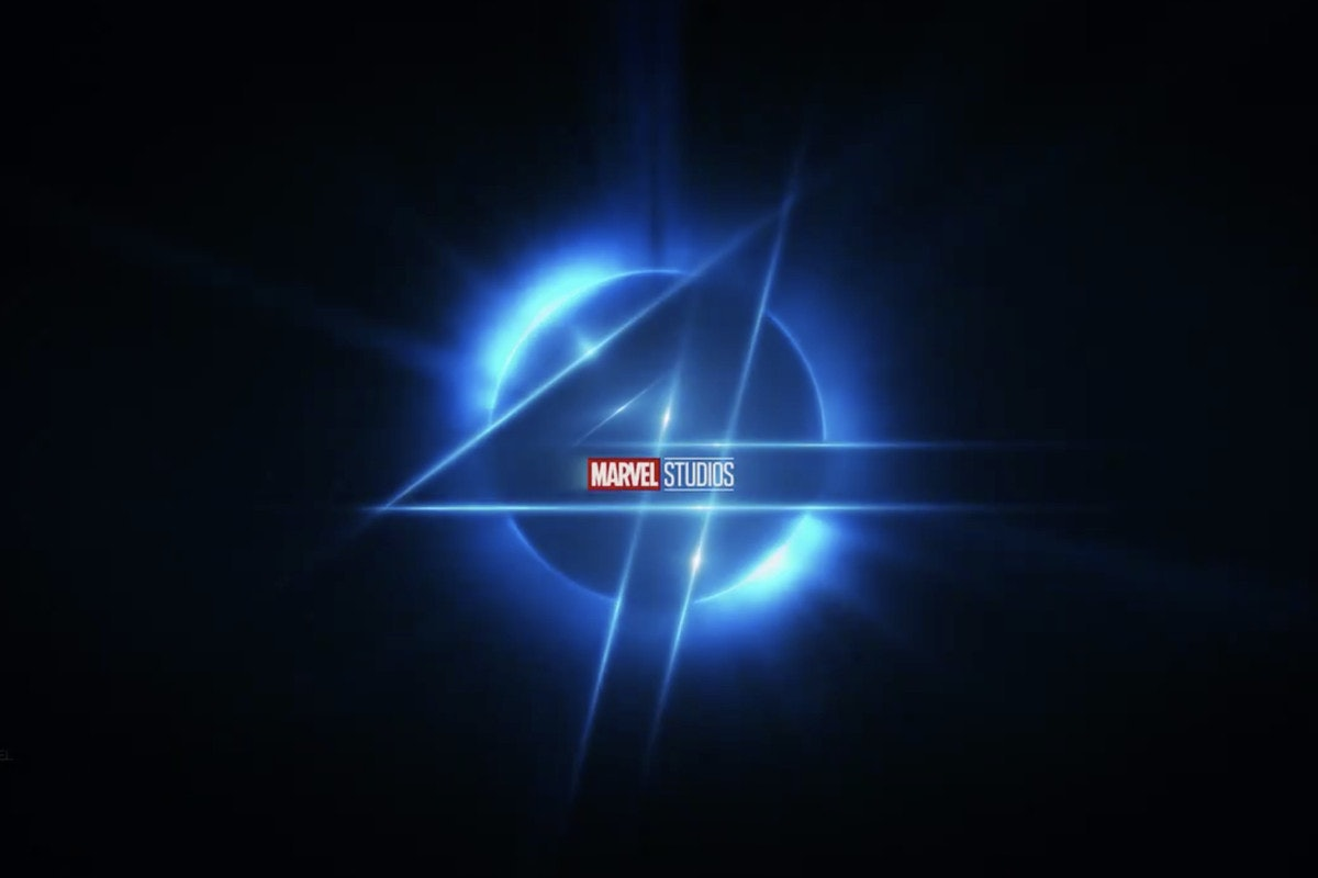 The Fantastic Four logo tease from the Marvel Cinematic Universe