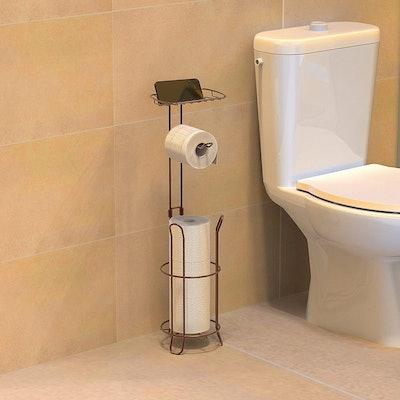 SimpleHouseware Toilet Tissue Roll Holder