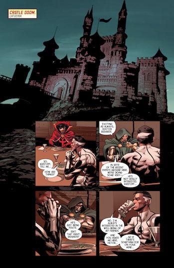 Castle Doom Marvel