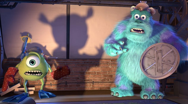 'Monsters Inc.' is a Disney movie from 2001.