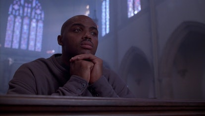 Charles Barkley in Space Jam. Warner Bros. Pictures and HBO Max.
