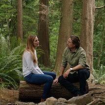 Alexandra Breckenridge as Mel Monroe and Martin Henderson as Jack Sheridan in 'Virgin River' Season ...
