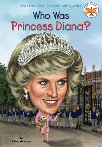 Who Was Princess Diana? by Ellen Labrecque, illustrated by Jerry Hoare