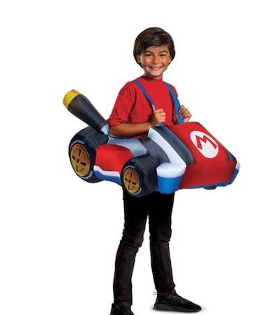 Mario Kart Inflatable Kart Costume for Kids