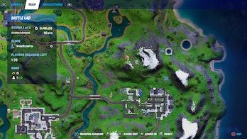 fortnite cb radio location 1 map