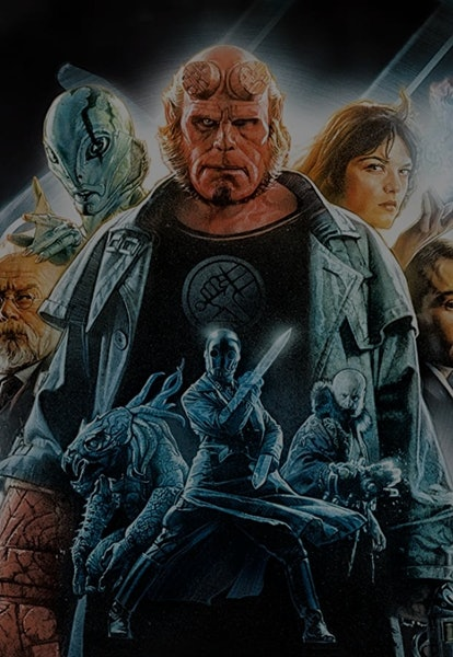 hellboy 2004 movie poster