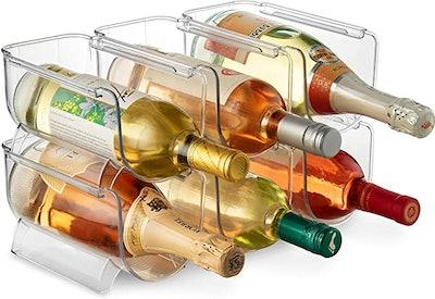 Seseno Wine and Water Bottle Organizer