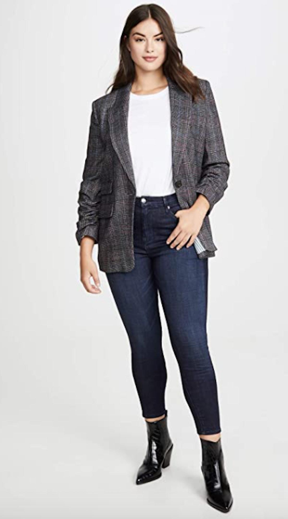 Good American Good Waist Crop Jeans