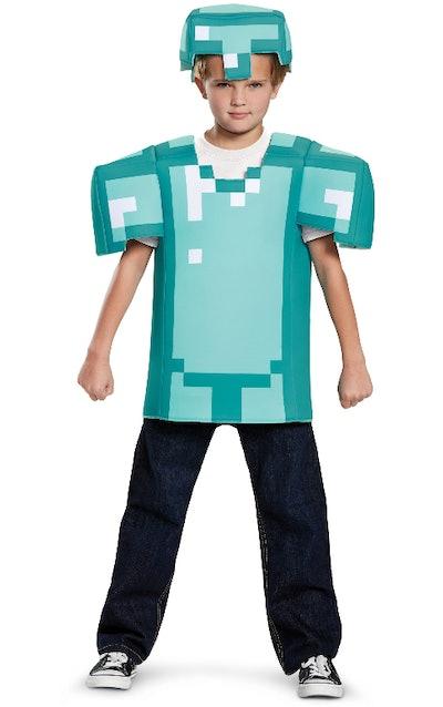 Kids Minecraft Classic Armor Costume