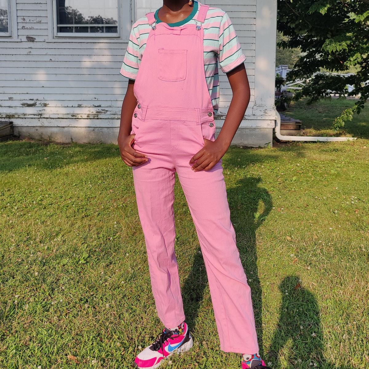 @ngarard Candy Girl Pink Overalls