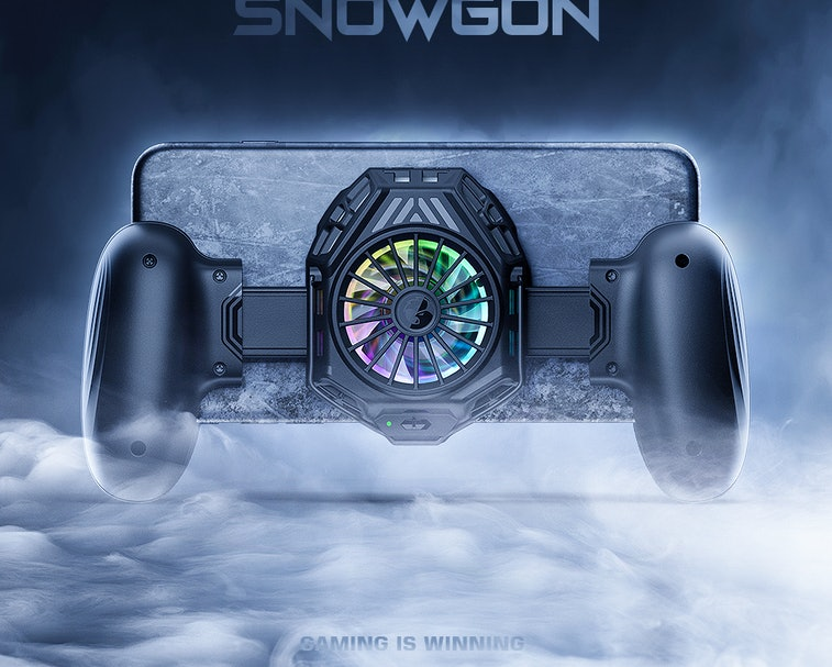 F8 Pro Snowgon phone cooler for Android and iOS phones