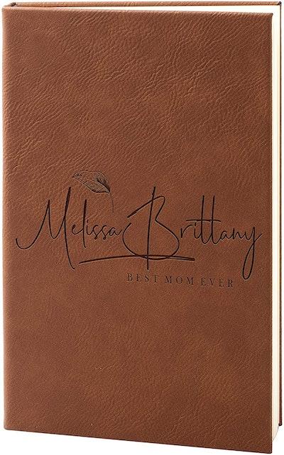 Customization Mill Personalized Leather Journal