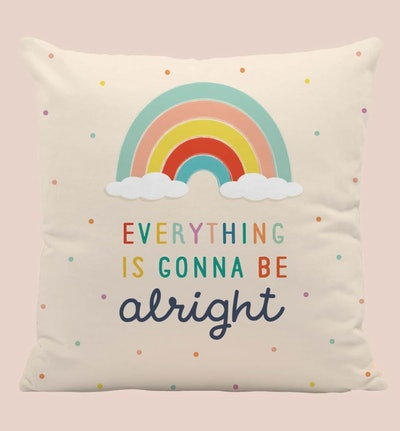 Kids Rainbow Pattern Cushion Cover Without Filler