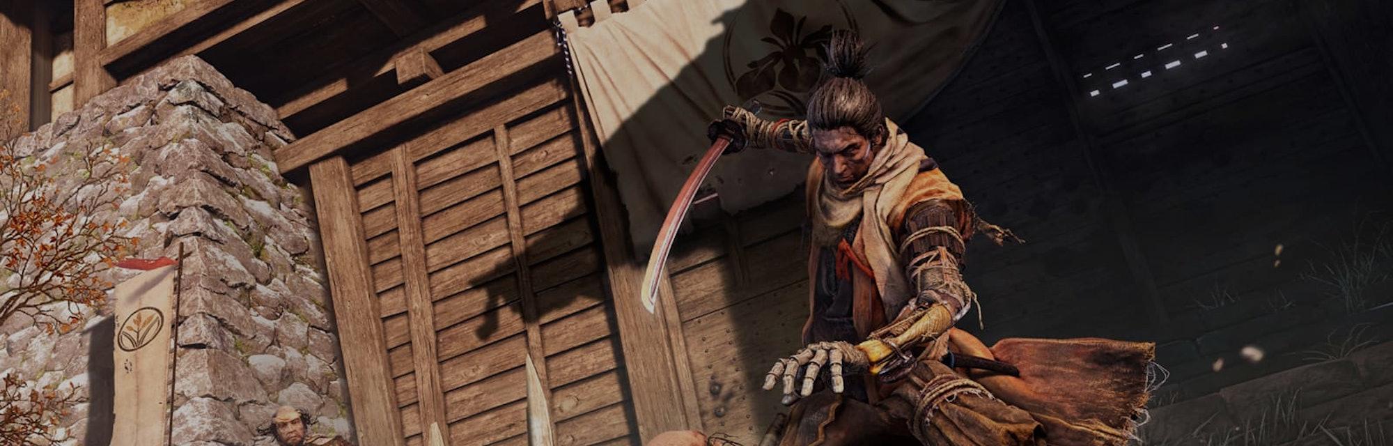 A screenshot from Sekiro