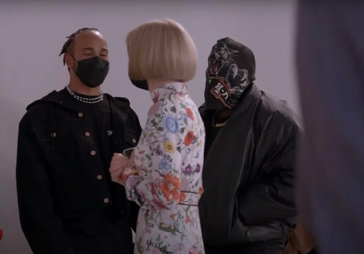 Kanye West Balenciaga Couture Mask