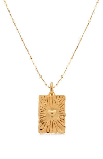 Talisman Heart Engravable Pendant Necklace