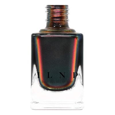 ILNP Eclipse Black to Red Ultra Chrome Nail Polish