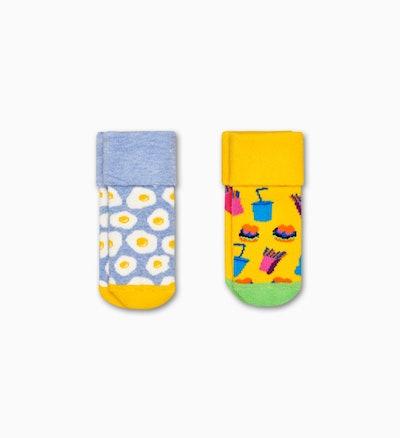 2-Pack Kids Brunch Terry Socks