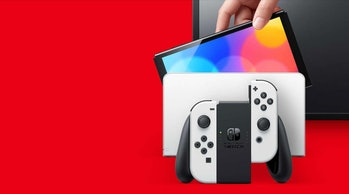 Nintendo says the dock for the new Switch can be used with existing models.