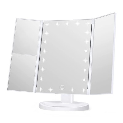 Wondruz Lighted Makeup Mirror