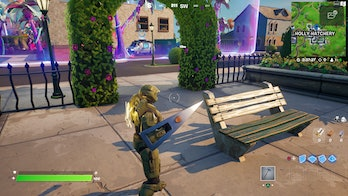 fortnite welcome gift location 1 gameplay